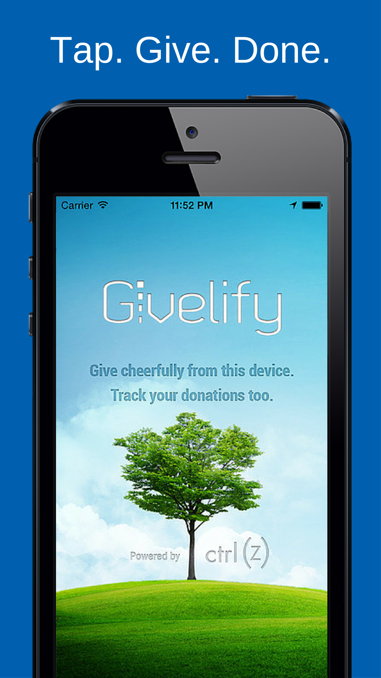 Givelify Mobile Giving App Screenshot