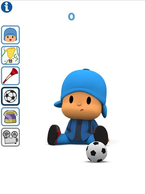 Talking Pocoyo Football HD Free screenshot-3