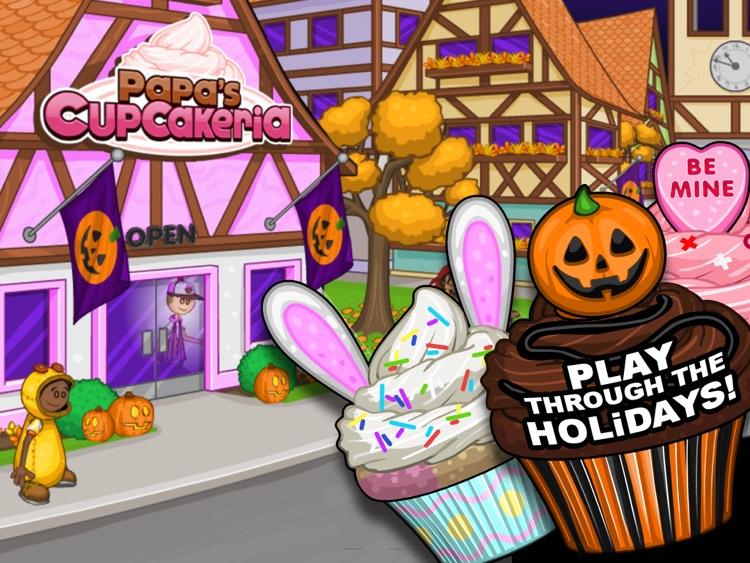 Papa's Cupcakeria HD screenshot-3