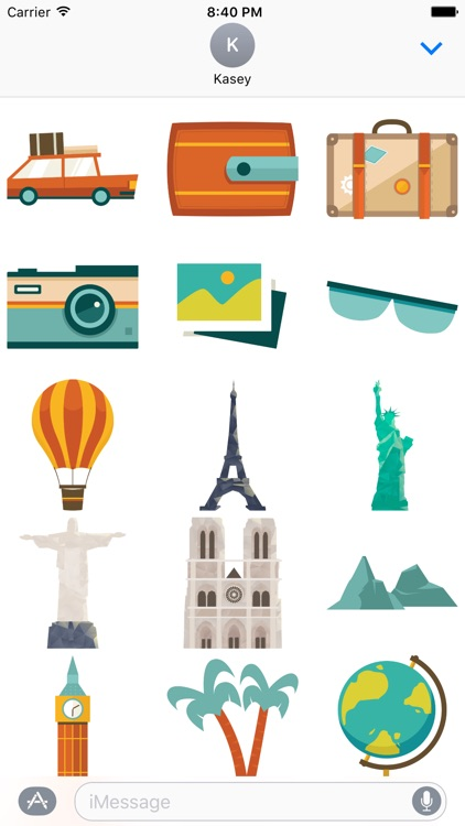 Travel Stickers Pack