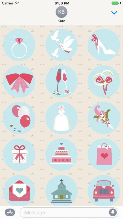 Wedding Day Stickers screenshot-3