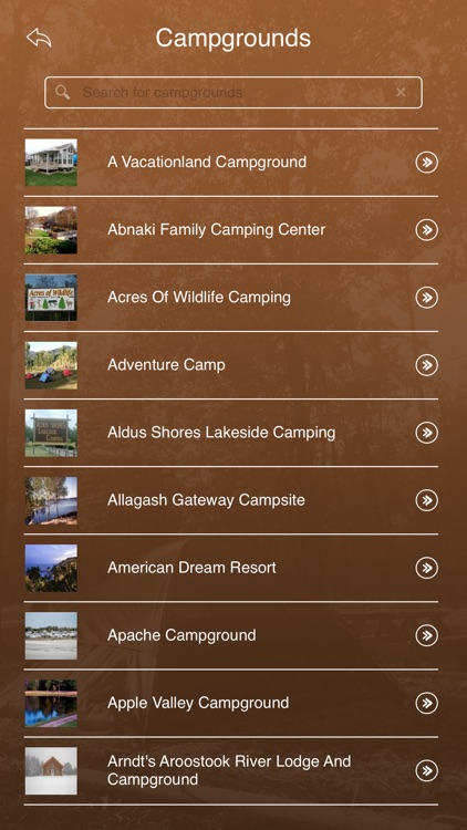 Maine Camping Guide screenshot-2