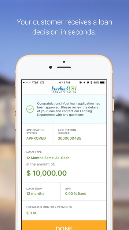 EnerBank USA Contractor screenshot-4