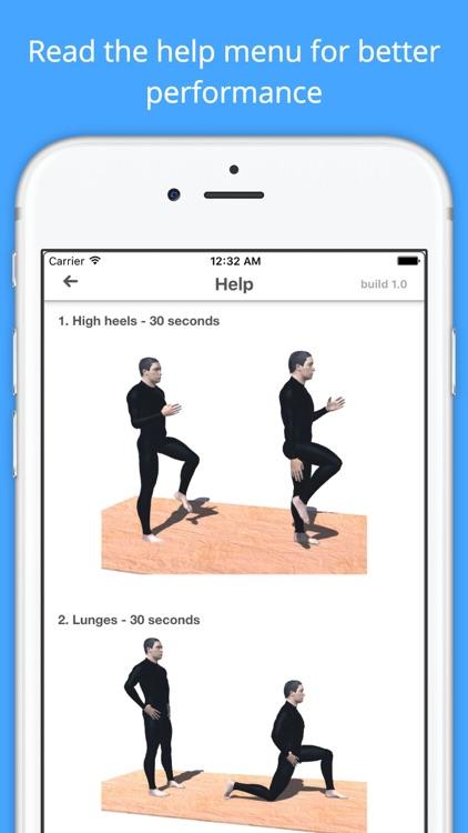 12 Min Snowboard Workout Challenge - Fit for slope screenshot-4