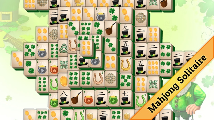 St. Patrick's Day Mahjong screenshot-1