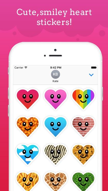 Happy Hearts | Smiley and Cute Heart Emoji