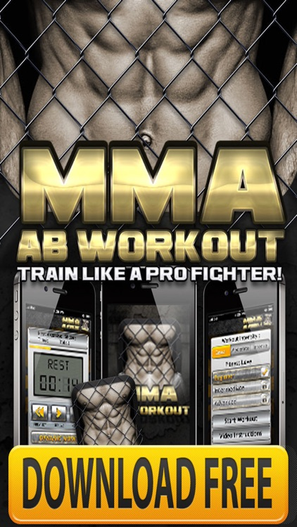 Ab Workouts MMA+ FREE Core Strength Abdominal Flex screenshot-0