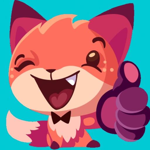Sheila the Fox Sticker Pack