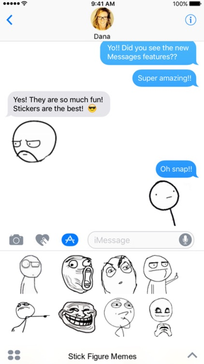 Stick Figure Memes stickers by Johnnymcdonald1