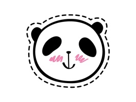 You will be overloaded with cuteness of this beautiful collection of 15 panda stickers