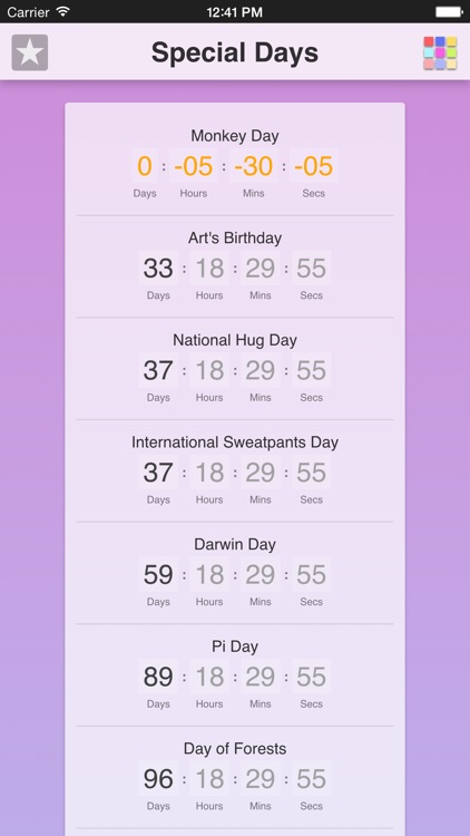 Special Days App screenshot-0