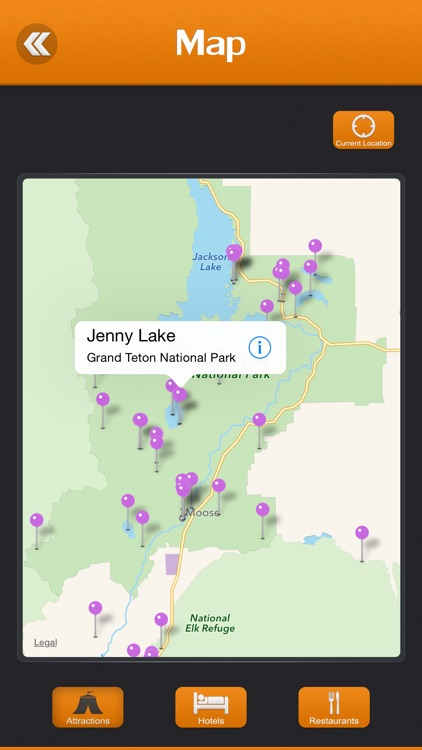 Grand Teton National Park Tourism Guide screenshot-3
