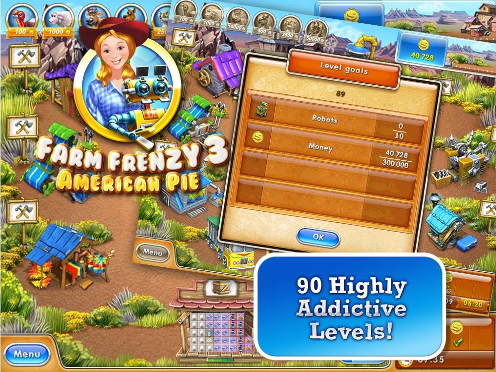 Farm Frenzy 3 American Pie HD Cheat Codes