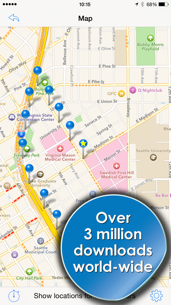 Phone Tracker for iPhones (Track people with GPS) Screenshot