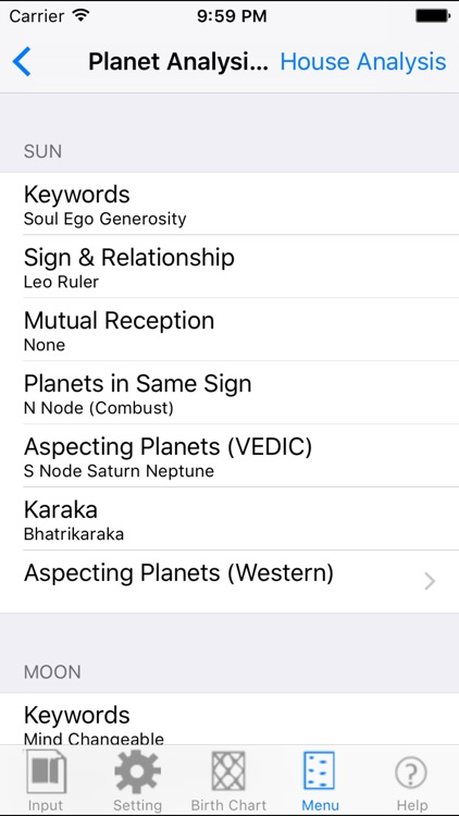 Vedic & Tropical Astrology screenshot-3