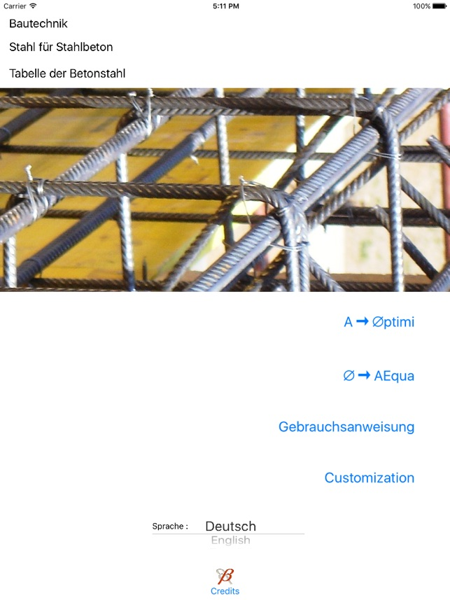 Rebar Numbers Screenshot