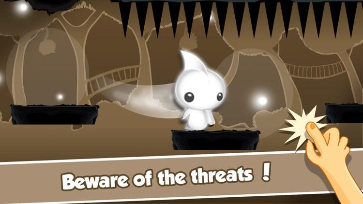 Cute Little Monster's Flying Dash – Endless Arcade Game screenshot-4