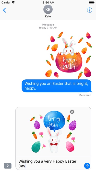 Watercolor Easter Day Stickers screenshot 5