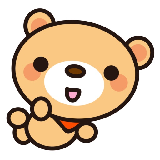 Fly Bear Sticker Pro - Cute & Emotional Stickers icon