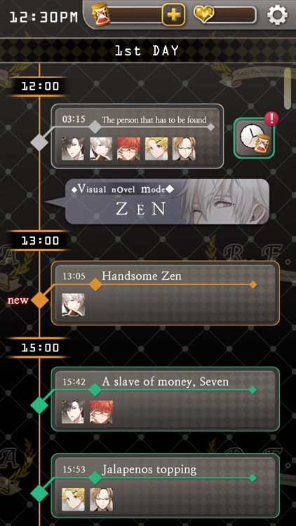 Mystic Messenger screenshot-3
