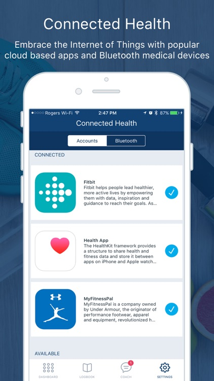 Tactio Health: My Connected Health Logbook screenshot-4