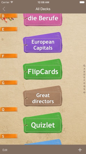 FlipCards - Flashcard app for memory training on the App Store