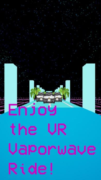 VR Vaporwave Driveのおすすめ画像3