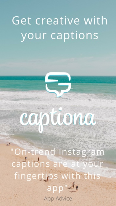 Captiona for Instagram Caption by Santiago Santucho (iOS