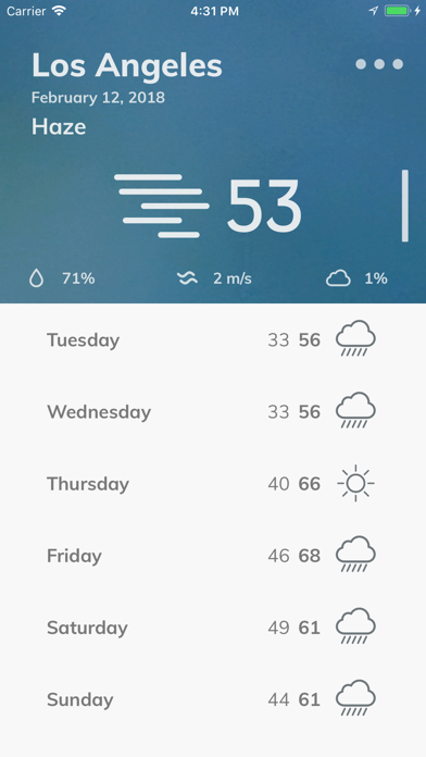 WeatherGPS app image