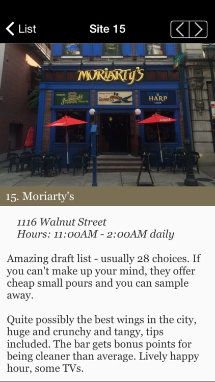 Lucky's Philly Beer Tour screenshot-4