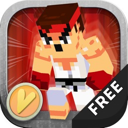 """3D Blocks Skins Running Run """"For Street Figther"""""""