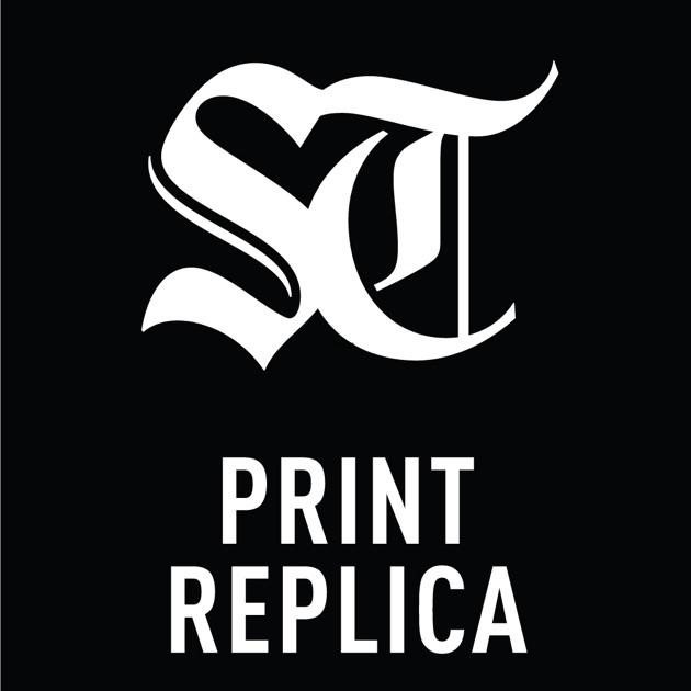 the seattle times print replica on the app store. Black Bedroom Furniture Sets. Home Design Ideas