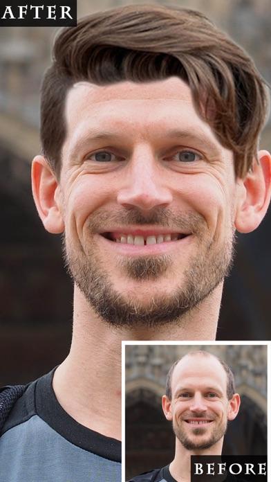 Peinado maquillaje pelo cambiador, cambiador de peCaptura de pantalla de1