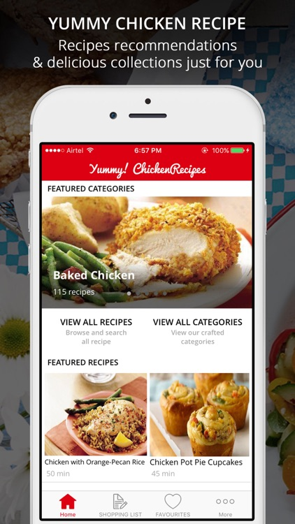 Yum! Chicken Recipes Pro - Cook And Learn Guide