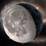 Lunar Phase calendar for the moon