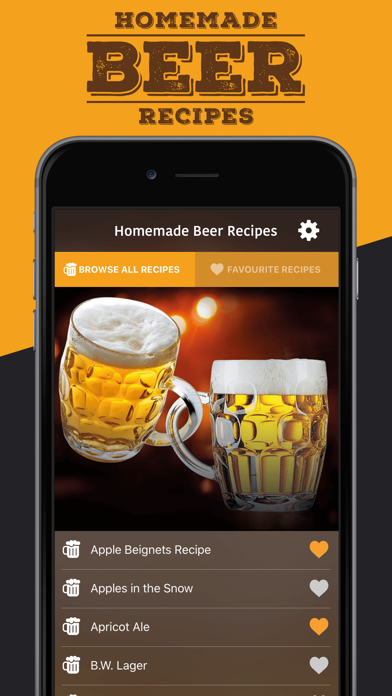 Homemade Beer Recipes screenshot one