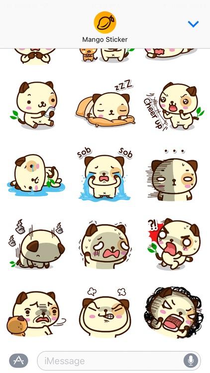 Pandadog - Mango Sticker screenshot-3