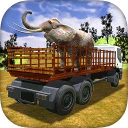 Elephant Transporter Truck Driver Simulator