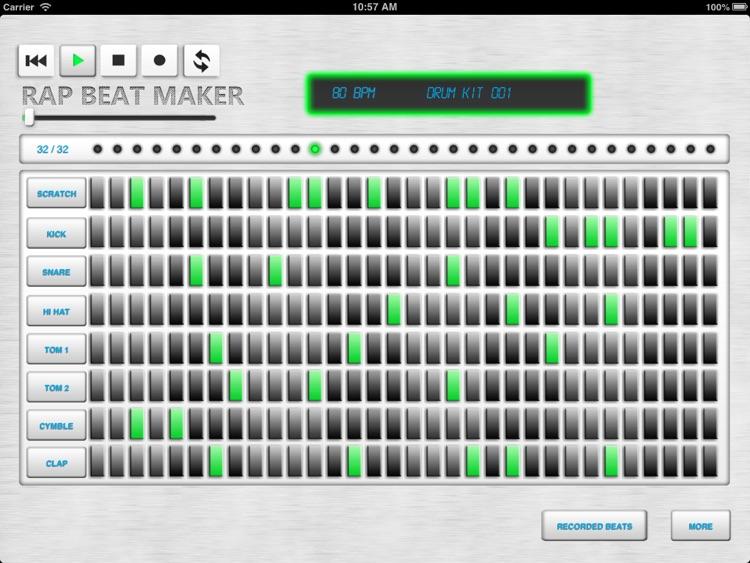 Rap Beat Maker screenshot-3