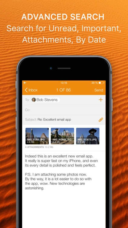 Premium Mail App for Hotmail and Outlook screenshot-3