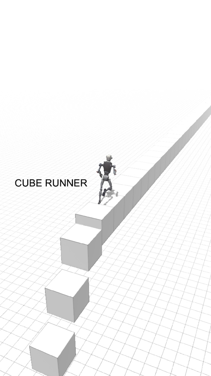 CUBE RUNNER / cube run Screenshot
