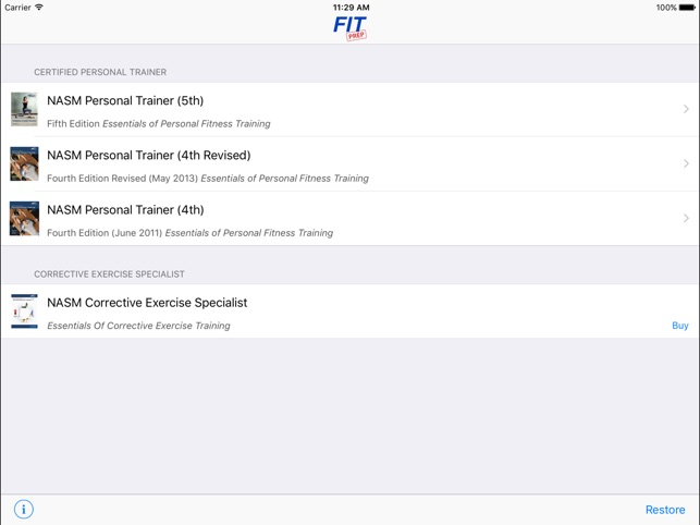 Nasm Cpt Test Questions Answers On The App Store