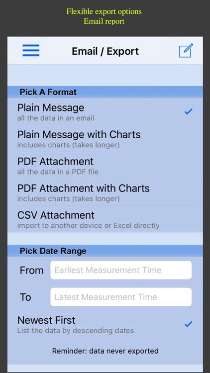 Glucose Monitor screenshot-4