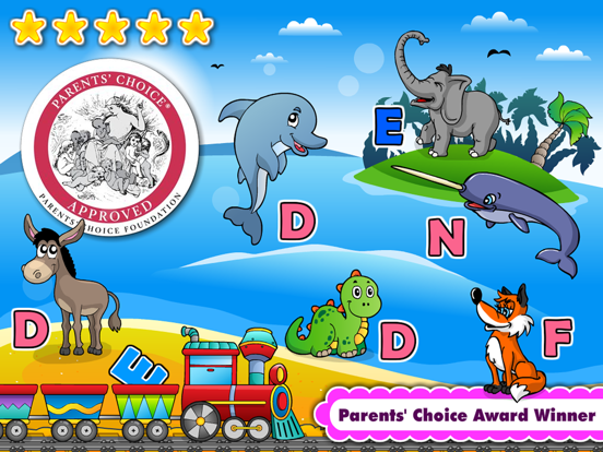 Phonics Island • Early Reading, Spelling & Tracing Montessori Preschool and Kindergarten Kids Learning Adventure Games by Abby Monkey® Alphabet and Letter Sounds Reader screenshot