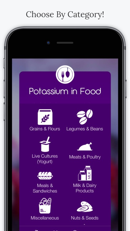 Potassium In Foods