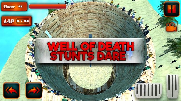 Well of Death Stunts Dare