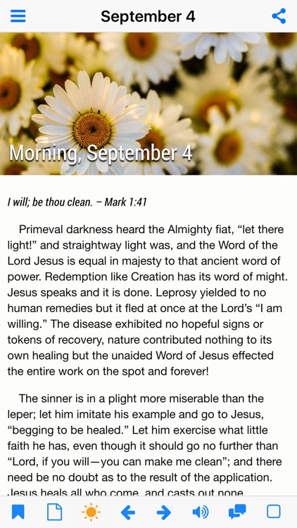 Morning and Evening With God - Daily Devotional (Lite) screenshot-3