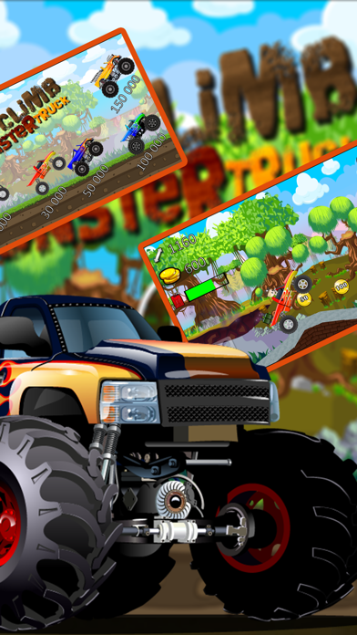 Car Truck Hill Racing : Monster Mountain ClimbСкриншоты 1