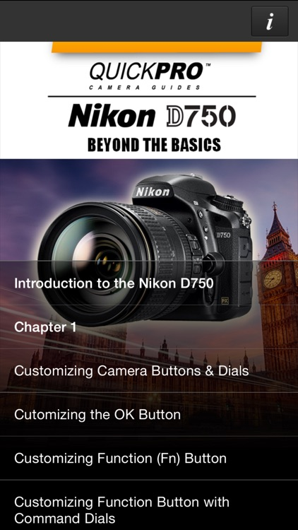 Nikon D750 Beyond the Basics from QuickPro