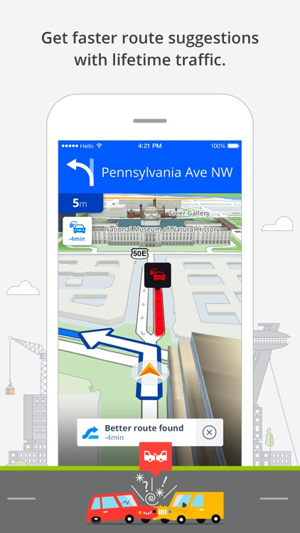 Sygic Europe: GPS Navigation, TomTom Offline Maps app image
